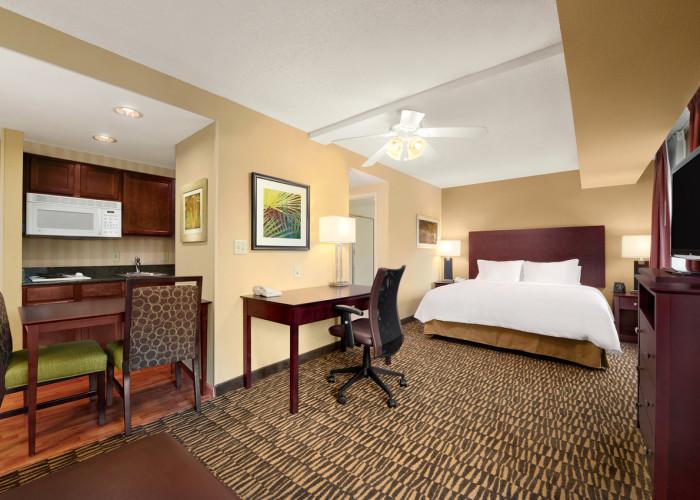 King Studio Homewood Suites Hotel in Brandon FL
