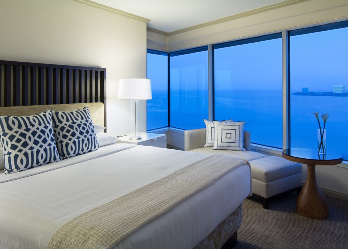 Bay View Room with a king Bed