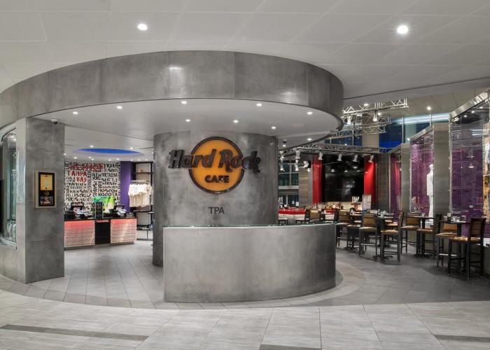 Hard Rock Cafe/Rock Shop Tampa Airport Main Terminal