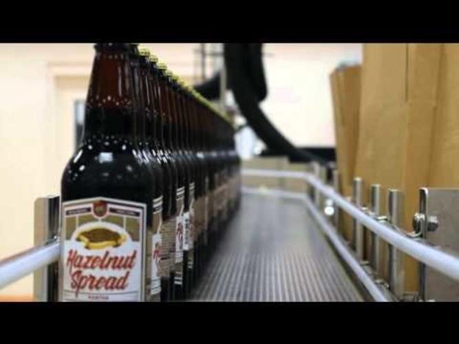Bottling Brew Bus Hazelnut Spread Porter