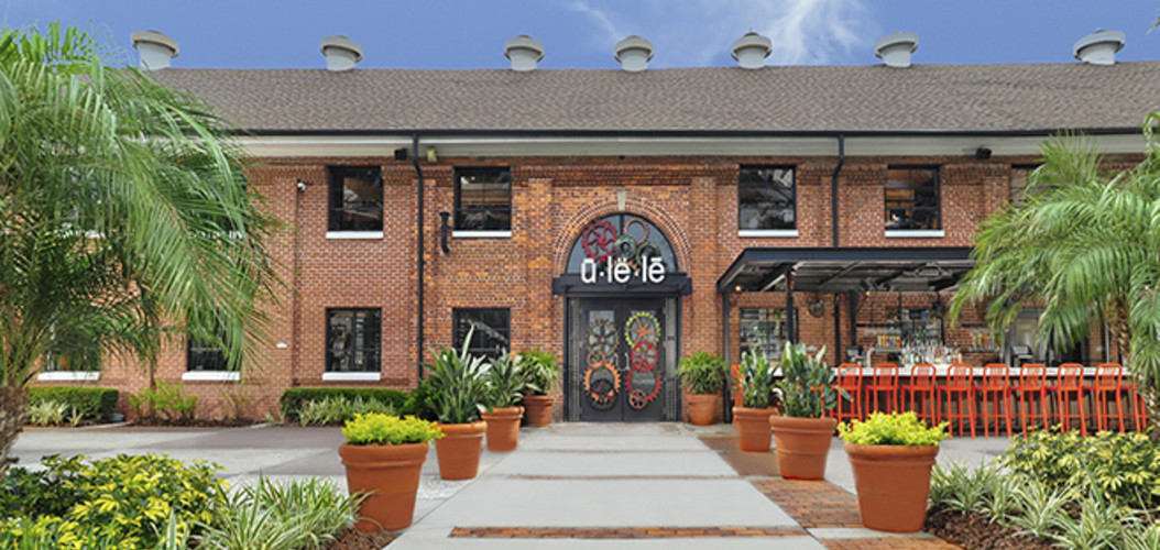 Ulele on the Tampa Riverwalk. Serving lunch & dinner daily