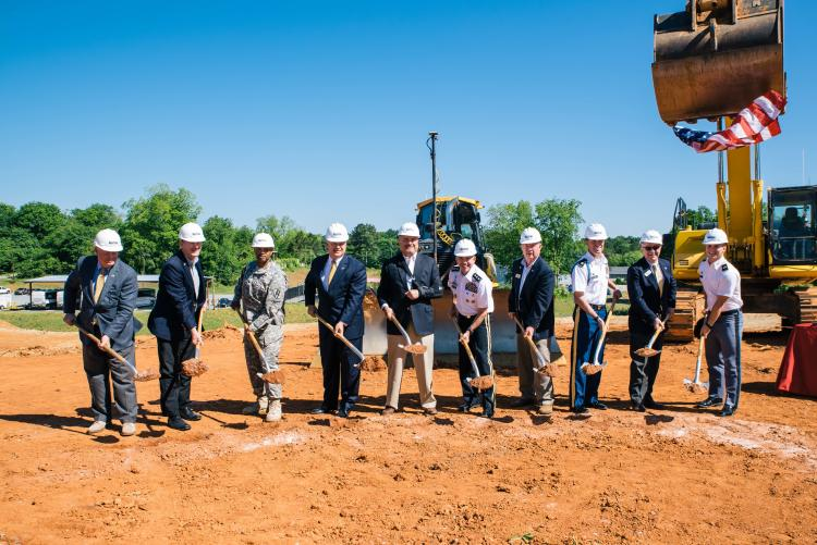 GMC ground breaking