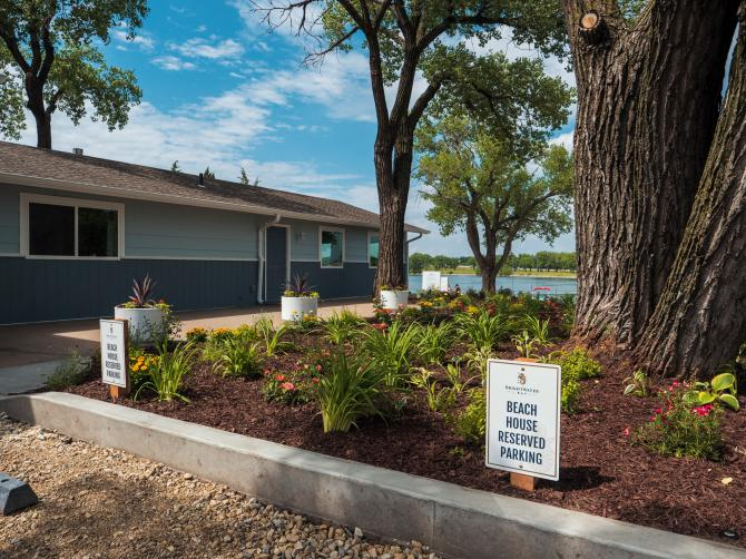 Enjoy the lake in the city at Brightwater Bay in Wichita KS