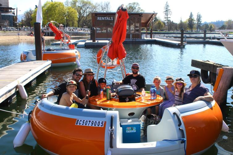 Maeg's BBQ boats