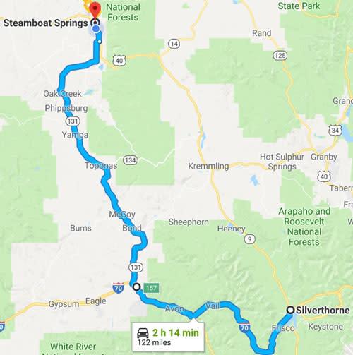 Wolcott Route
