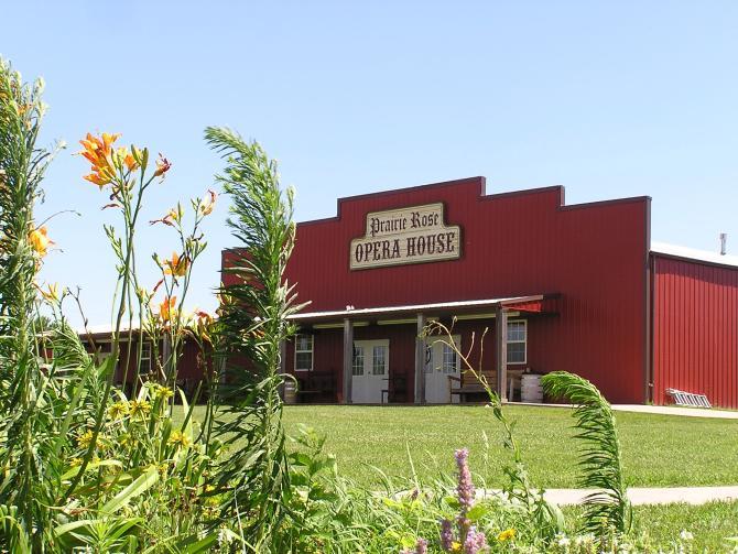 Prairie Rose Chuckwagon Supper is a great rustic venue in Wichita KS