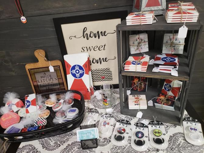 Pick up last-minute gifts or flag swag at Generations Antiques & Artisans