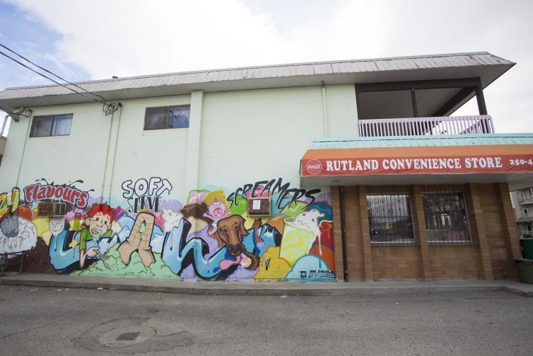 Rutland Convenience Store Art