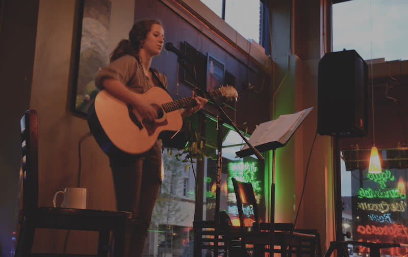 Favorite Place To Hangout - Acoustic Cafe - Photo by: Kelsey Smith