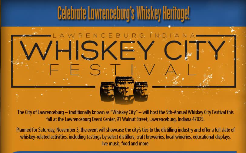 Whiskey City Festival Lawrenceburg