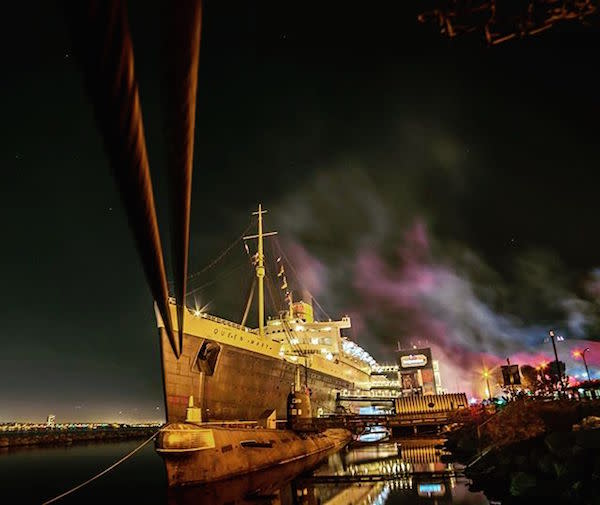 The Queen Mary by @rustolium