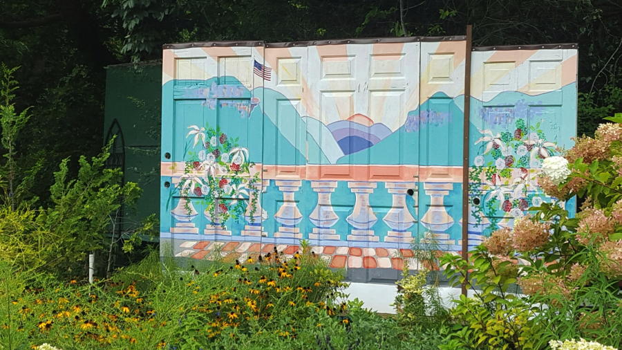 Lake Lure Flowering Bridge Mural