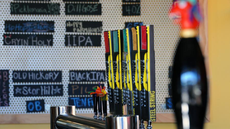 Steel String Brewery on Tap