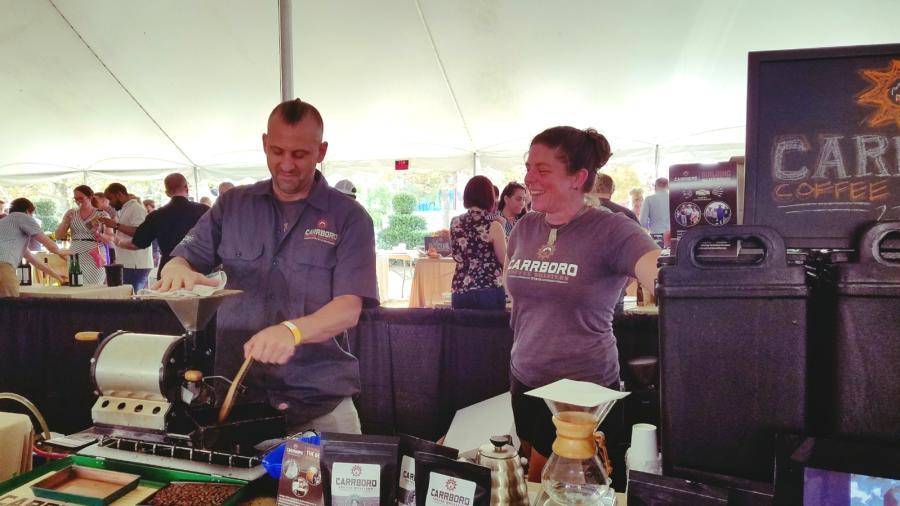 Carrboro Coffee Roasters at TerraVita