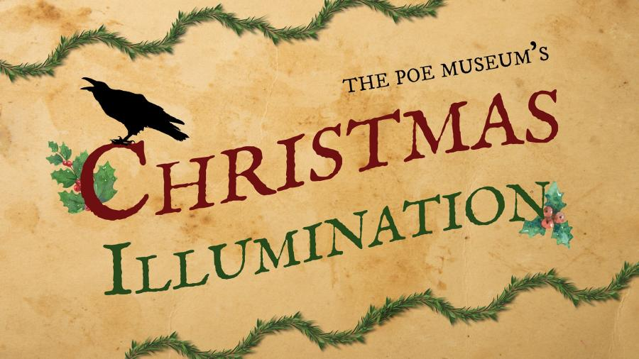Poe Museum Christmas Illumination