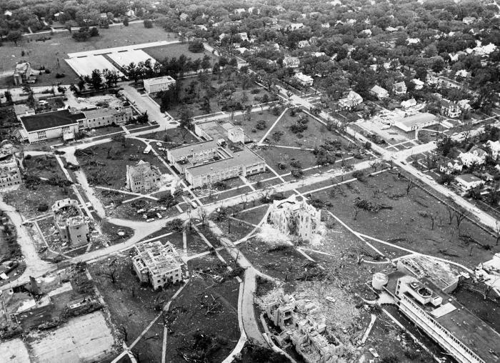 WU Archives Tornado Arial