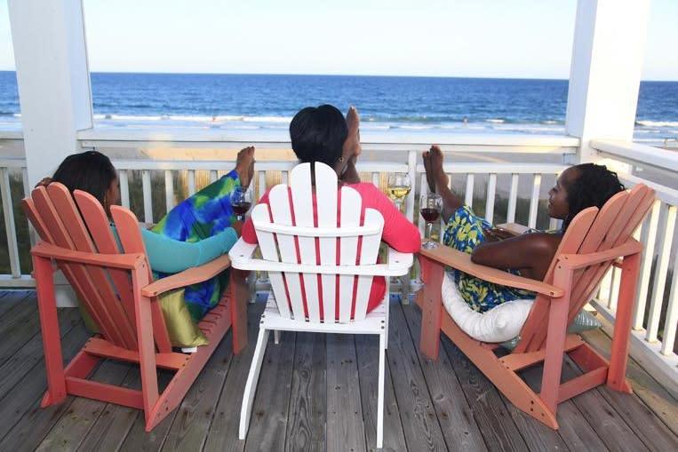 Girlfriends getaway to Wrightsville Beach