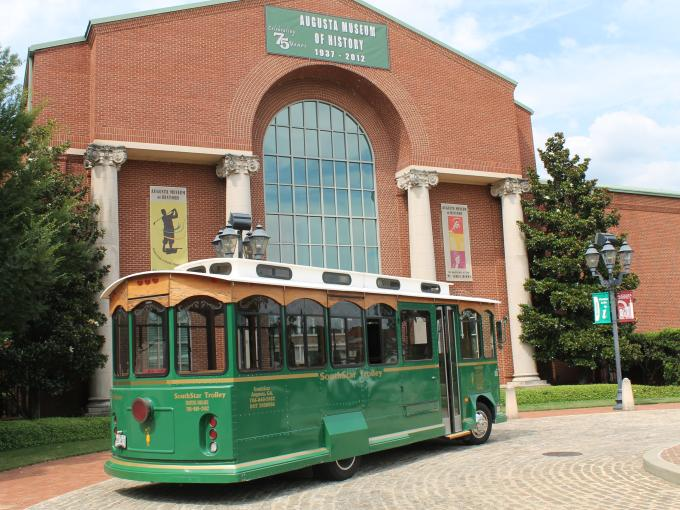 Historic Trolley Tour of Augusta on