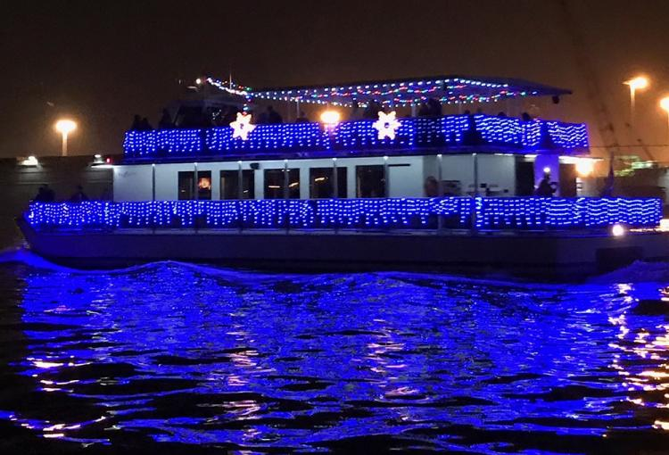 Holiday Boat Parade Aquarium