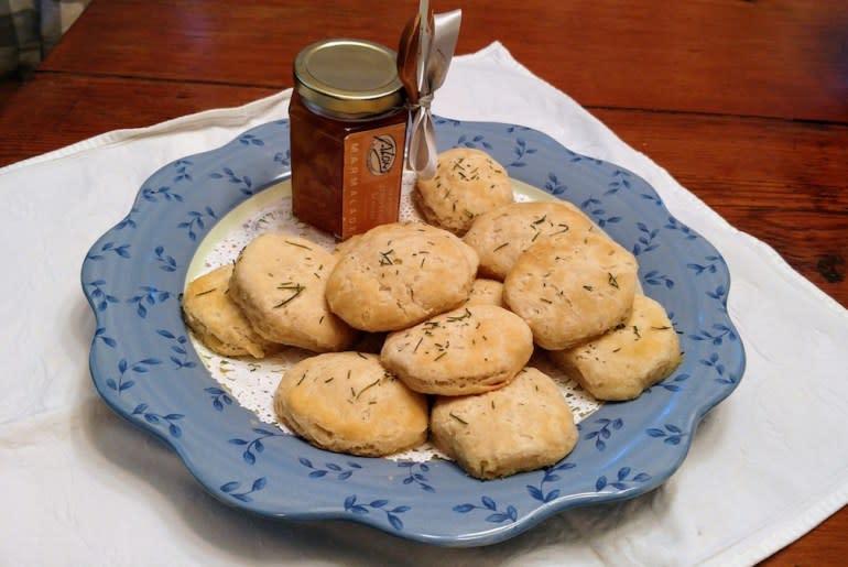 Biscuits at Antebellum Inn