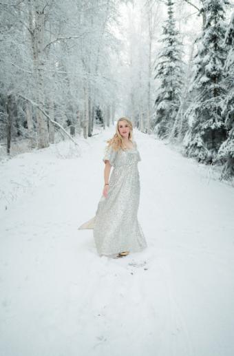 Solstice - dress in snow