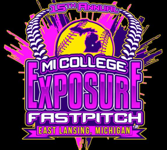 MI College Exposure Softball LOGO