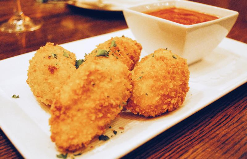 Seafood Arancini The Mooring