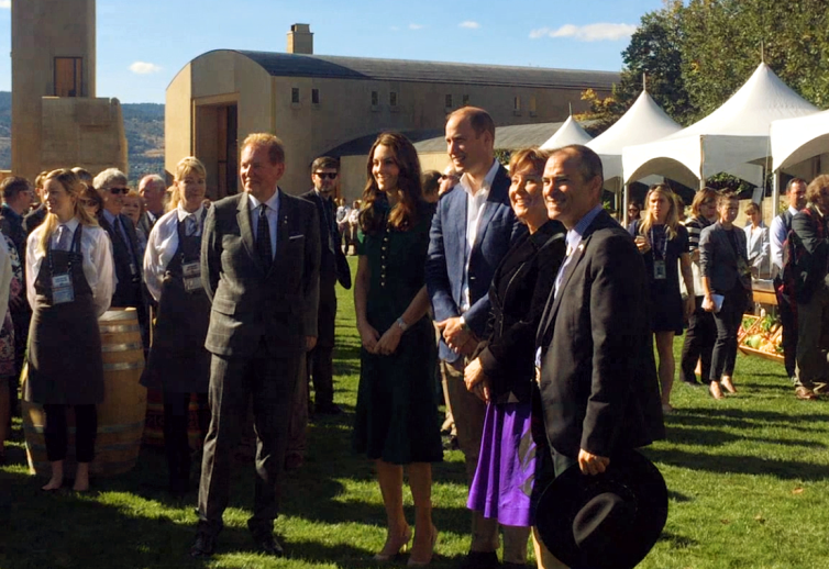 Will & Kate at Mission Hill