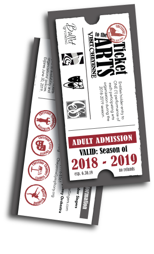 Ticket to the Arts graphic