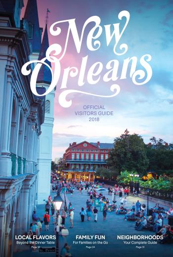 Official Visitor Guide Cover 2018