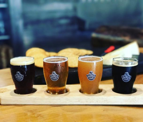 Paddle of Craft Beer Samples