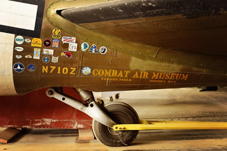 Copy of Combat Air Museum - Plane