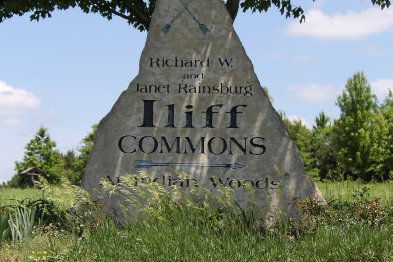 Iliff Commons Sign