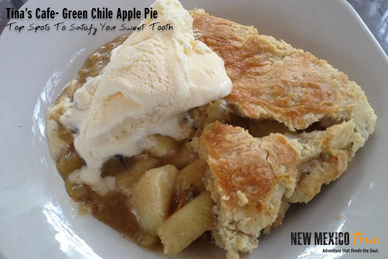 Green Chile Apple Pie from Tina's Café; Ruidoso