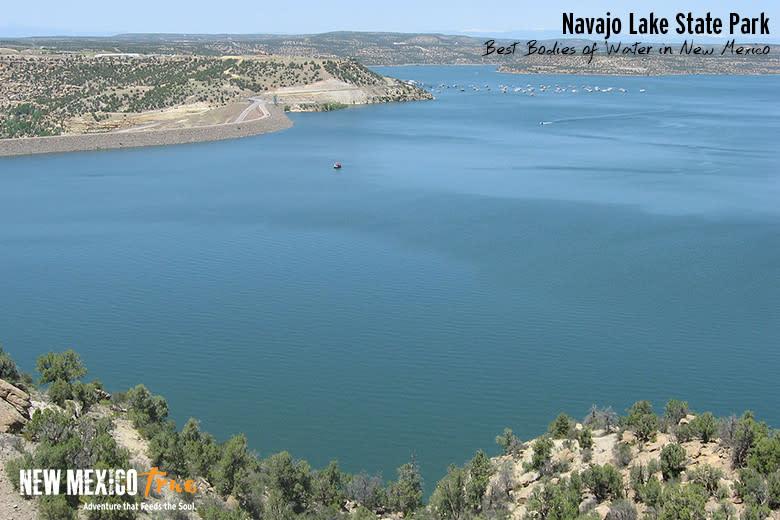 Wakeboarding at Navajo Lake State Park
