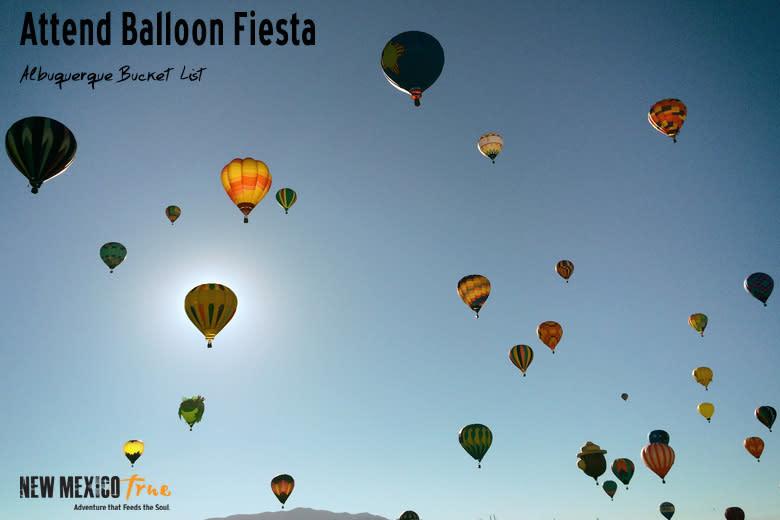 Attend Ballon Fiesta