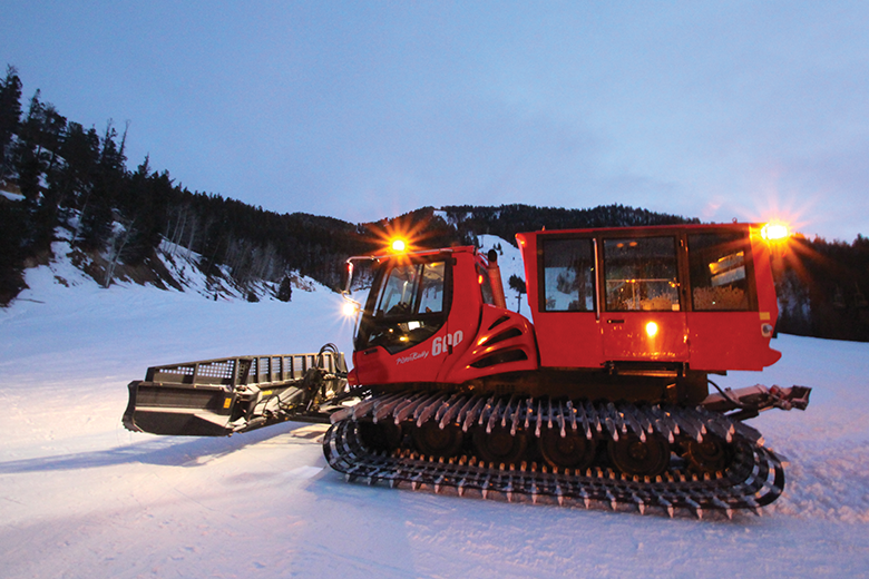 Cruisers, Snowmaking, And Grooming