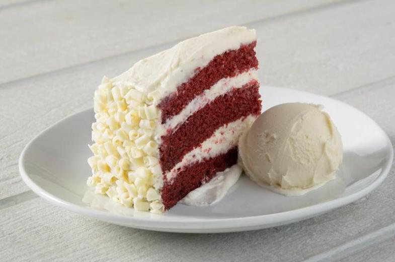 Red Velvet Cake ala Mode