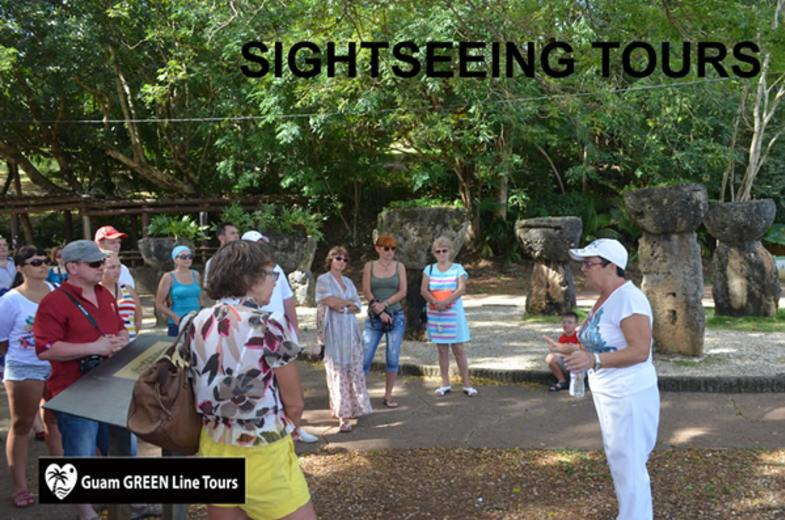 Guam GREEN Line Tours- Sightseeing