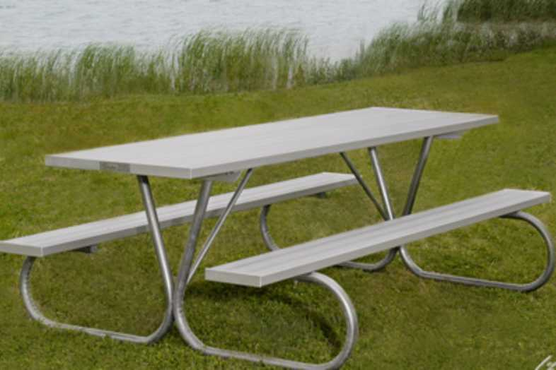 Picnic Tables | Aluminum Picnic Tables