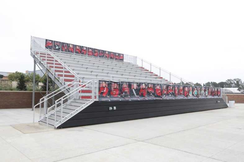 RANKIN COUNTY SCHOOL DISTRICT - BAND BLEACHER - 1