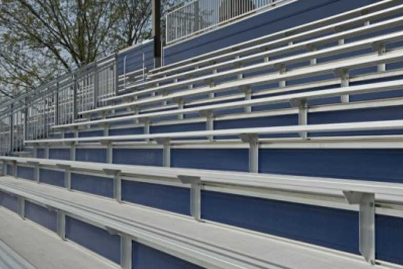 Bleachers - University of Michigan Soccer Field
