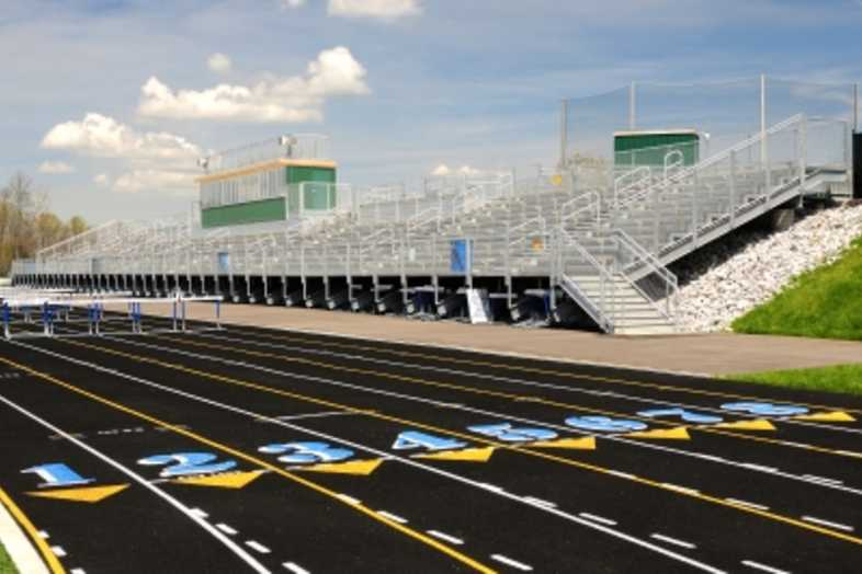 Football Bleachers - Walton-Verona ISD