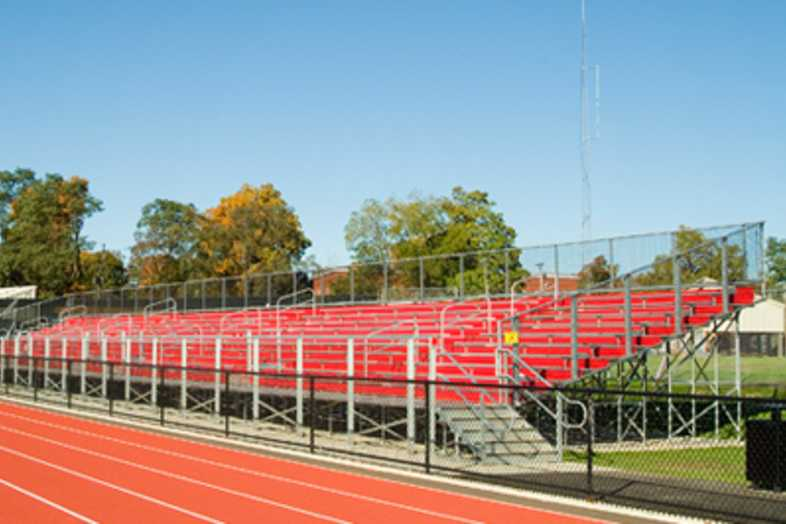 Football Bleachers - Vicksburg High School