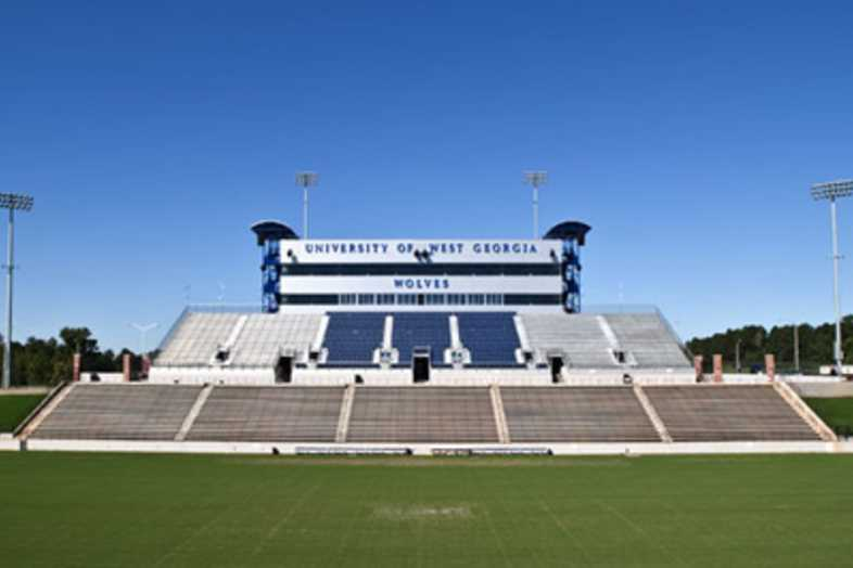 Football Bleachers - University of West Georgia