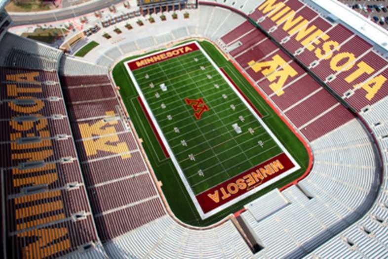 Football Bleachers - Univeristy of Minnesota