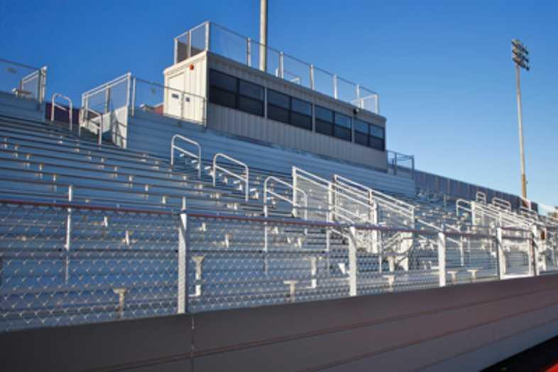 Football Bleachers - Torrance High School