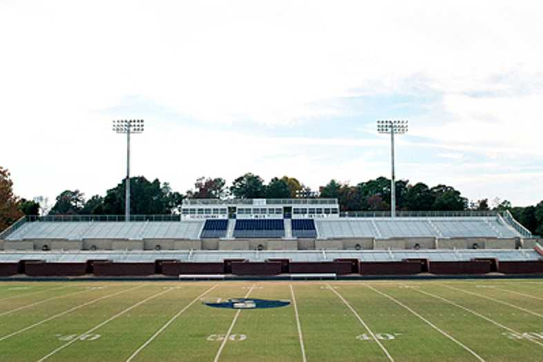 Football Bleachers - Statesboro High School