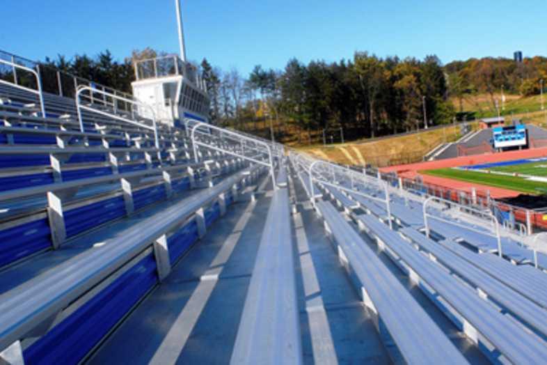 Football Bleachers - Spring Grove Area School District