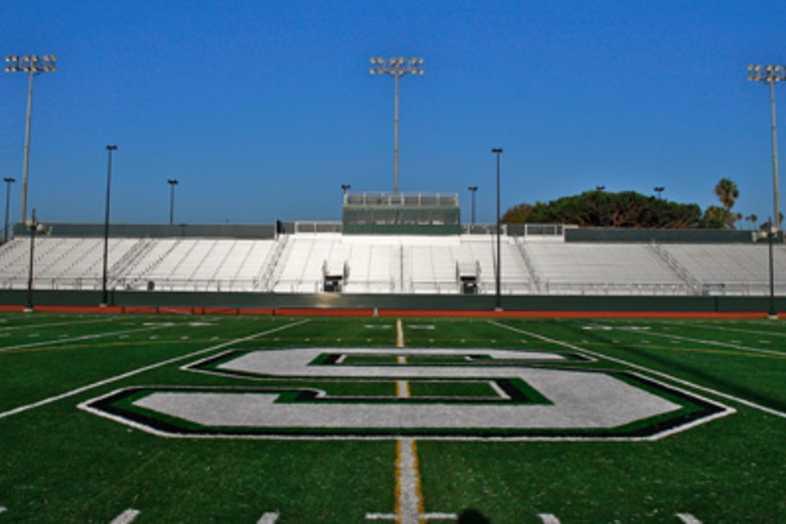 Football Bleachers - South High School (Torrance, CA)